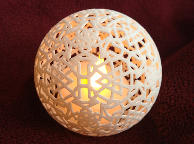 Kaleidoscope LED Tealight