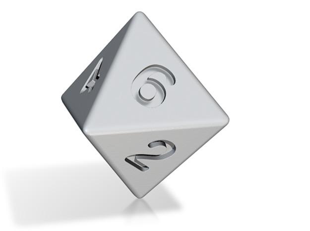 D8 Custom Octahedral Die v0.1.0